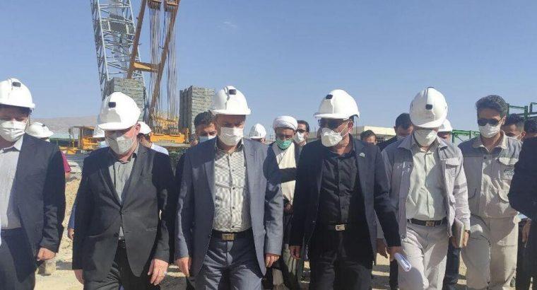 وزیر صمت از پتروشیمی ایلام بازدید کرد