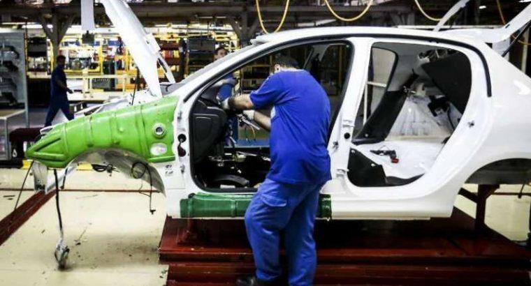 خودروسازان در نیمه نخست ۱۴۰۰ چند دستگاه خودرو تولید کردند؟