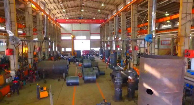 یک شرکت در تبریز موفق به تولید دیگهای بخار و مخازن تحت فشار شد